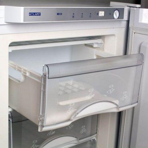 Морозильник ATLANT М 7201-100 - панель управления