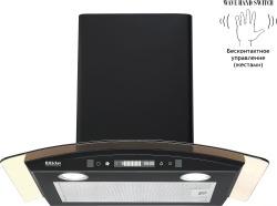 Кухонная вытяжка Backer QD60E-MC Black 12K