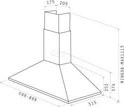 Кухонная вытяжка Elica Tamaya Rail ANBR/A/60 (PRF0057590)