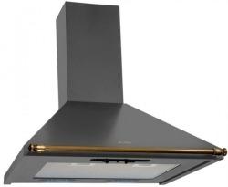 Кухонная вытяжка Elikor Вента 60П-430-П3Л (Антрацит/Бронза)