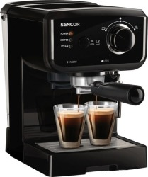 Рожковая помповая кофеварка Sencor SES 1710BK